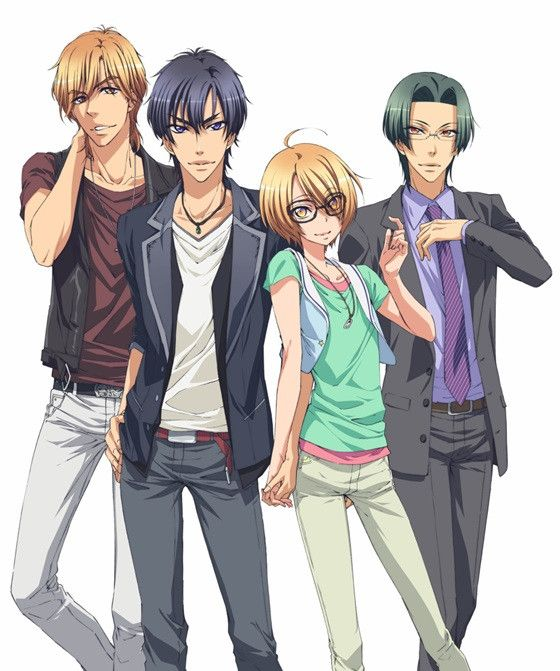 "Crunchyroll - New Key Visual for Boys Love TV Anime ""Love Stage!!"""