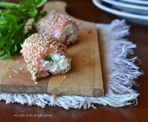 Rotolini di salmone antipasto velocissimo