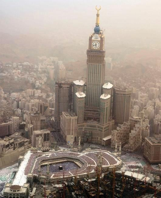 the kaaba in saudi arabia