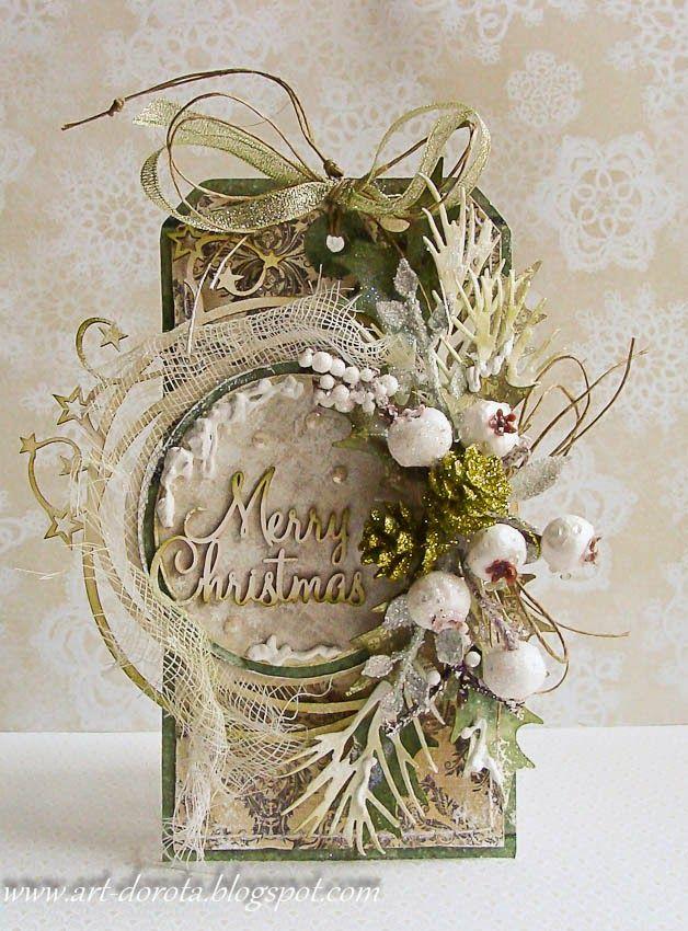 Dorota_mk: Christmas tag   TAGS #1   Pinterest   Christmas tag ...