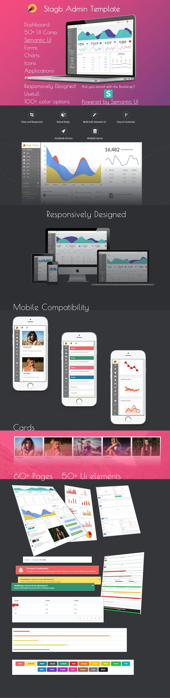 Semantic ui dashboard template