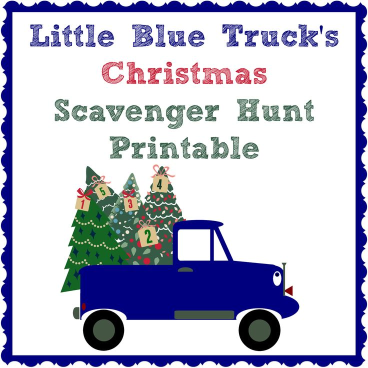 Bringing Up Brumfields Little Blue Trucks Christmas