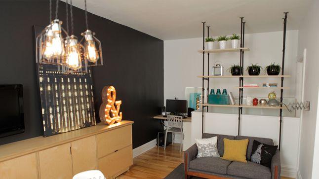 La nouvelle salle familiale de Gabriel, participant à l'émission dÉCO tendance_APRÈS