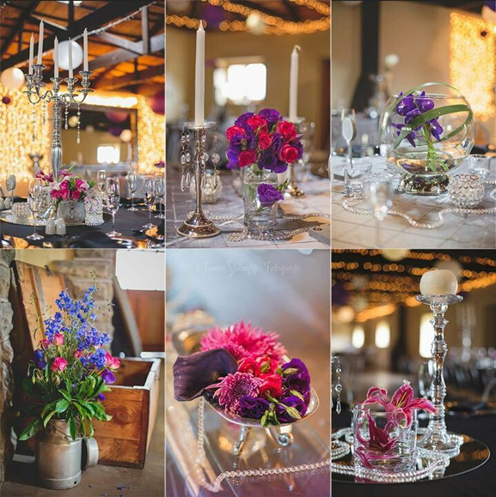Wedding tables, not one looked the same, why choose??