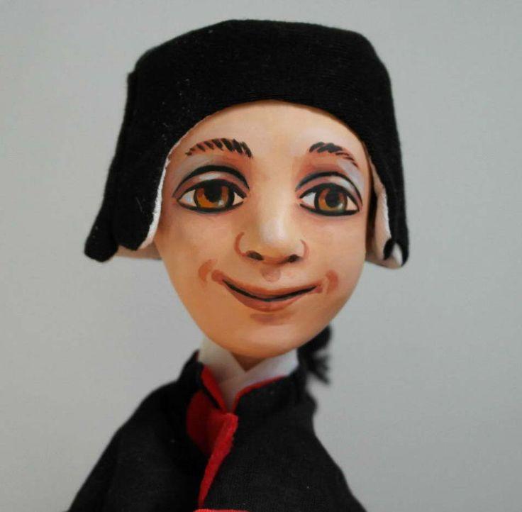 моя перчаточная кукла Гриньоль