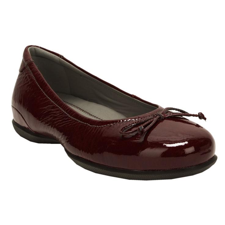 98df9b4cf1 ECCO Cosmic Patent Ballerina Flat  VonMaur  ECCO  Shoes  Flats