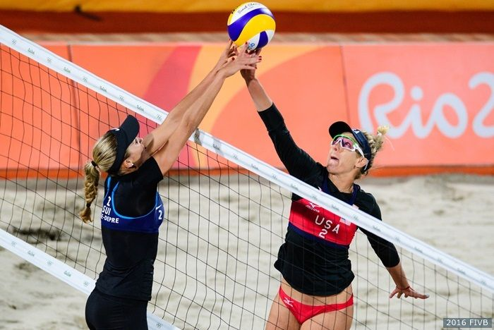 @kerriwjennings and April won their pool in #Rio! #Olympics #Volleyball #Beachvolleyball #Rio2016