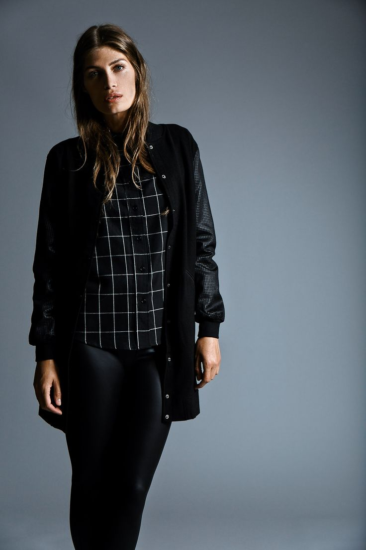Looking for at black beauty?  Go long with Stylepit black jacket AW14