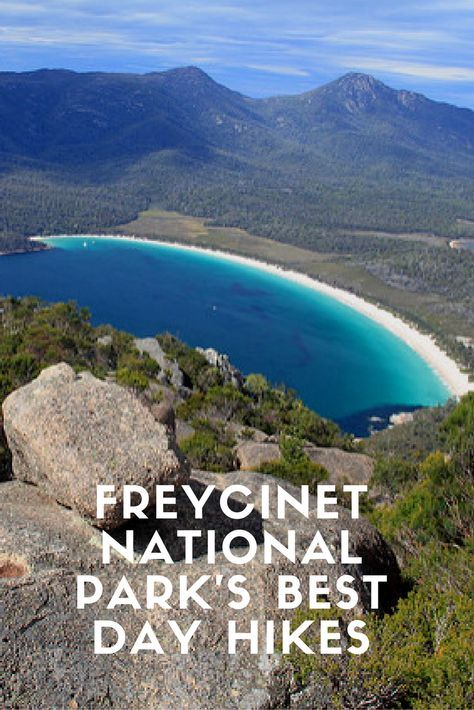 Freycinet National Park's is one of Tasmania's most popular national parks and is a gret place for hiking. The Freycinet National Park is located on the East coast of Tasmania in Australia.