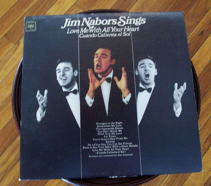 Jim Nabors Sings Love Me With All Your Heart LP 33 Columbia CL 2558 1966 Pop | Music, Records | eBay!