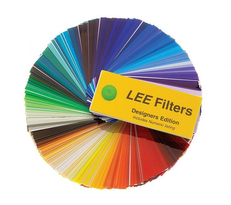 TEMPERATURA DA COR Catálogo da Lee Filters de Gelatinas de Correção