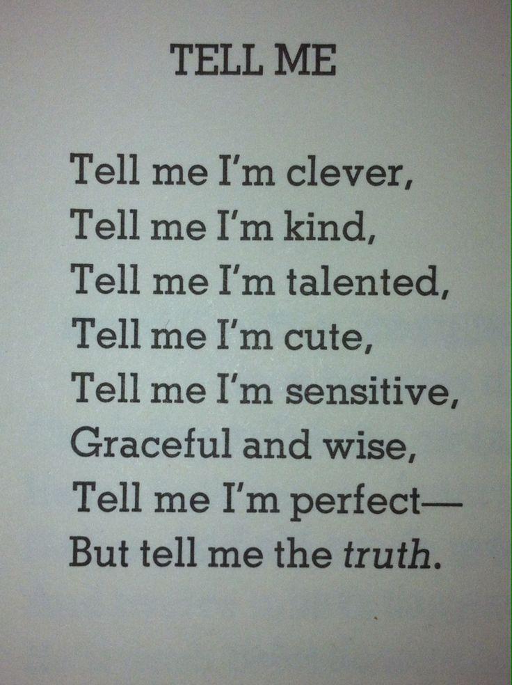 Shel Silverstein, my favorite poet.