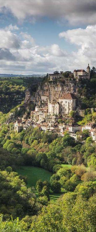 Travel Inspiration for France - Rocamadour, Dordogne, France