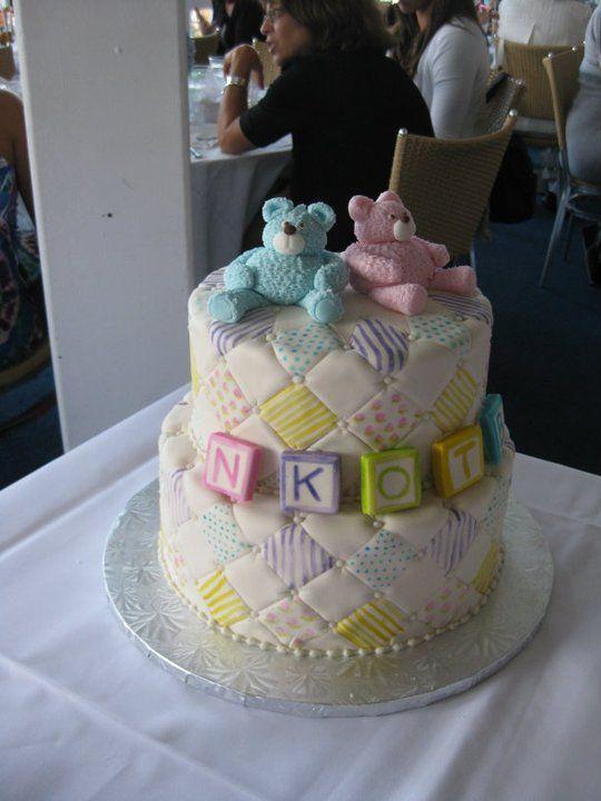 Twin Shower Cake Ideas