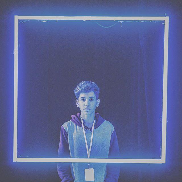 J'ai aperçu des carrés bleus, évidemment il fallait que je fasse une photo @jenniferdelhotellerie