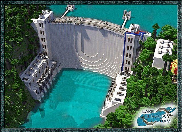 Lake Iliamna Dam Minecraft World Save