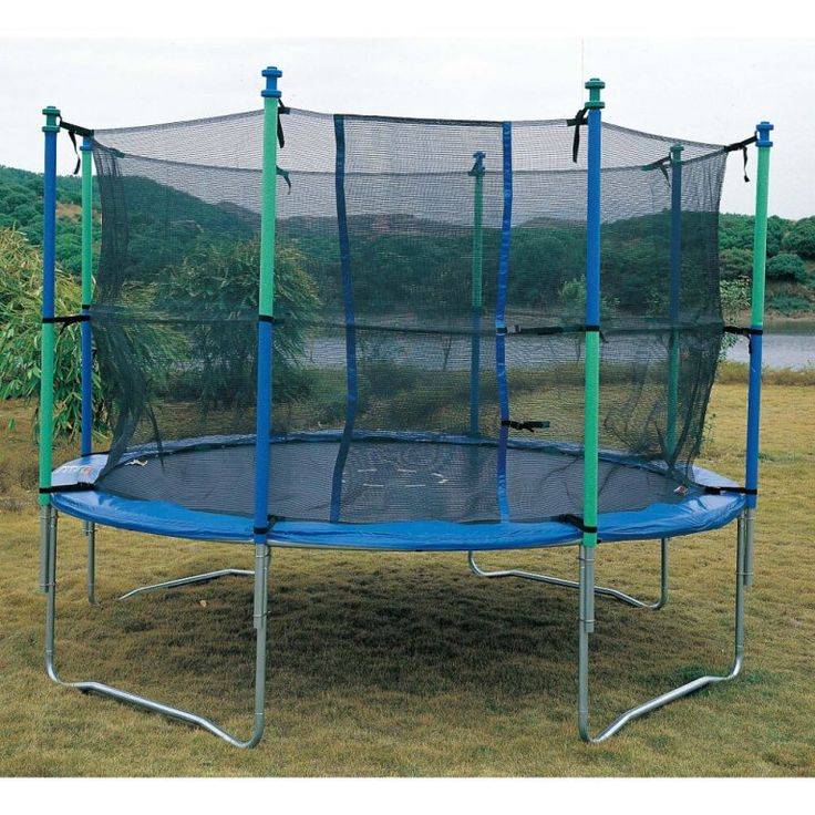 Propel 14 Trampoline With Fun Ring Enclosure: Best 25+ Trampoline Safety Ideas On Pinterest