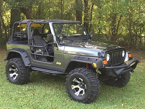 Hello from Louisiana!!!- 2000 Jeep Wrangler TJ