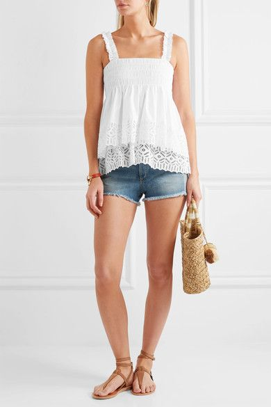 Best 25 broderie anglaise top ideas on pinterest for Tory burch fashion island