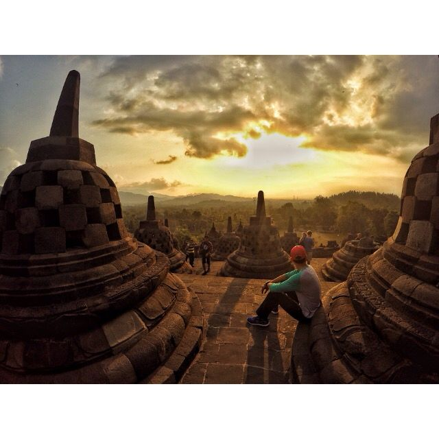 Borobudur Temple #indonesia #temple #borobudur #jogja #yogyakarta