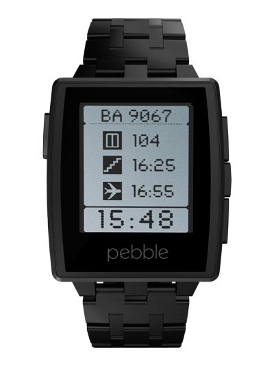 I've wanted a Pebble watch since I first saw them...but I won't lie, the plastic was a bit cheesy. I want the steel model bad!!!! Black, brushed metal...whatever, I'm in.