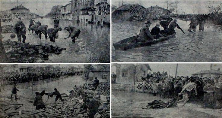 Sel Felaketi 8 mart 1950, Eskisehir