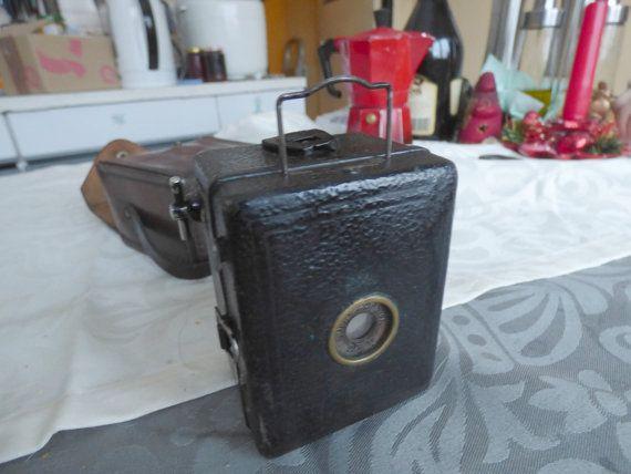 Zeiss Ikon Baby-Box Box-Tengor Boxkamera for A8 Film 4x6,5 cm 1934