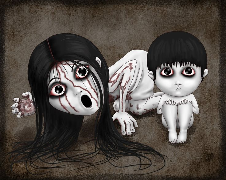Emo Girl Cartoon Wallpaper Toshio Y Kayako Saeki By Lauramei Deviantart Com On