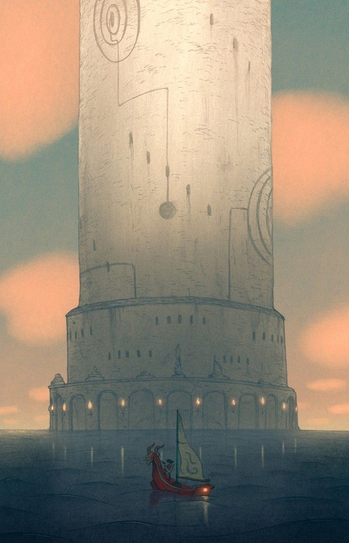 Tower of the Gods by Matt Rockefeller Legend of Zelda: Wind Waker