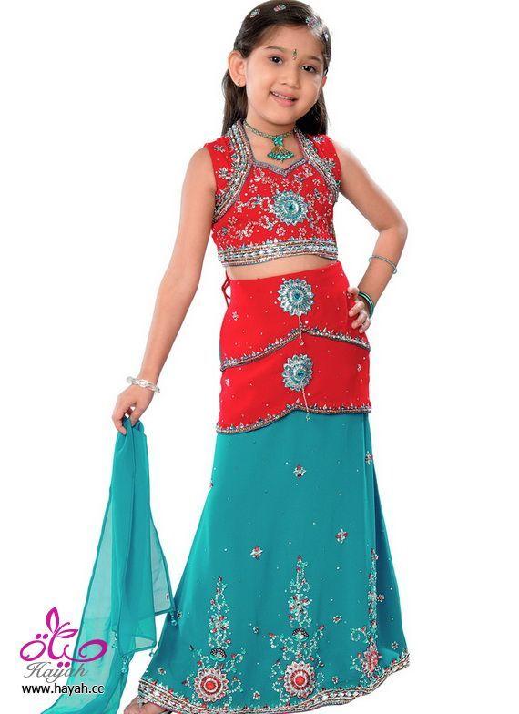 تصميمات مختلفة هندية من  فساتين الاطفال Different designs of Indian dresses kids Différents modèles de robes indiennes enfants