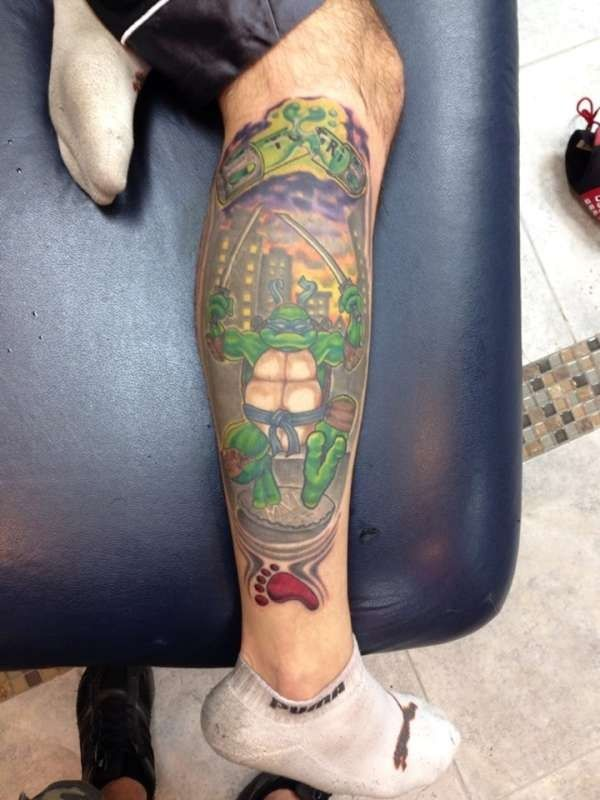 Ninja Turtle Tattoos Designs and Ideas13-013