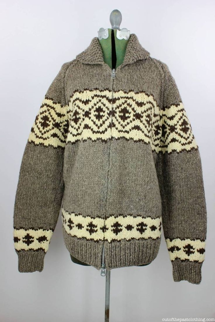 Hand knitted Jaguar sweater kMkfIo3