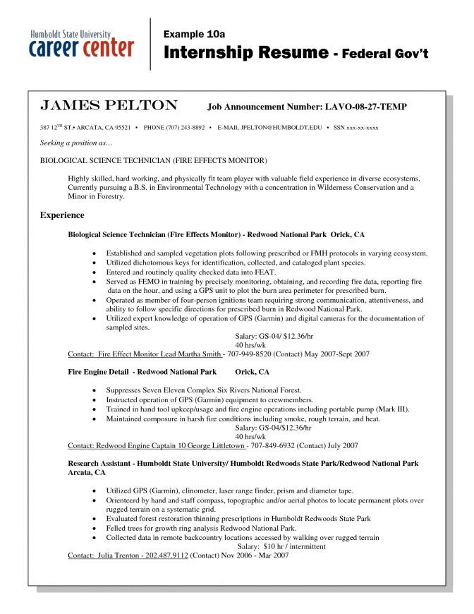 08 Federal Gs Resume - Submission specialist