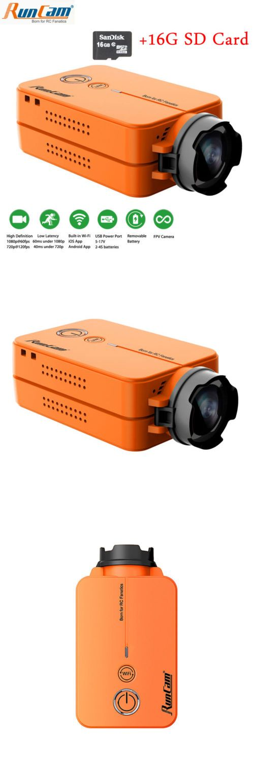 Flight Recorders and Telemetry 183470: Runcam 2 Full Hd 1080P Fpv Camera Wifi Link Camcorder For Racing Drone -> BUY IT NOW ONLY: $79.99 on eBay!