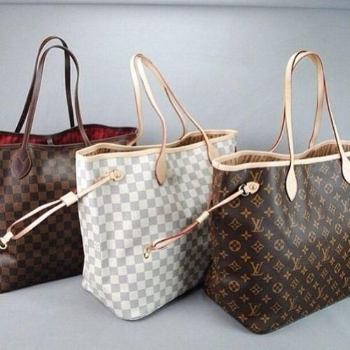 Neverfull LV new bag, Louis Vuitton new handbags collection  www.justtrendygir...