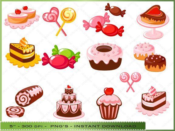 Desserts Clipart Dessert Clip Art Bakery | ่ีิjubchay ...