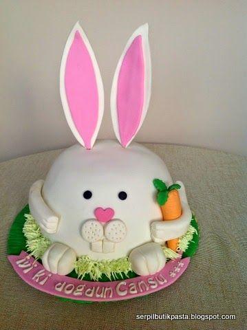 Butik Pasta Kurabiye Makaron: Bunny Cake