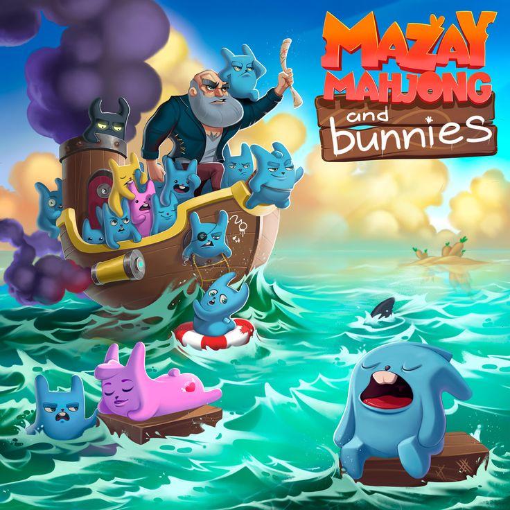 Mazay game on Behance