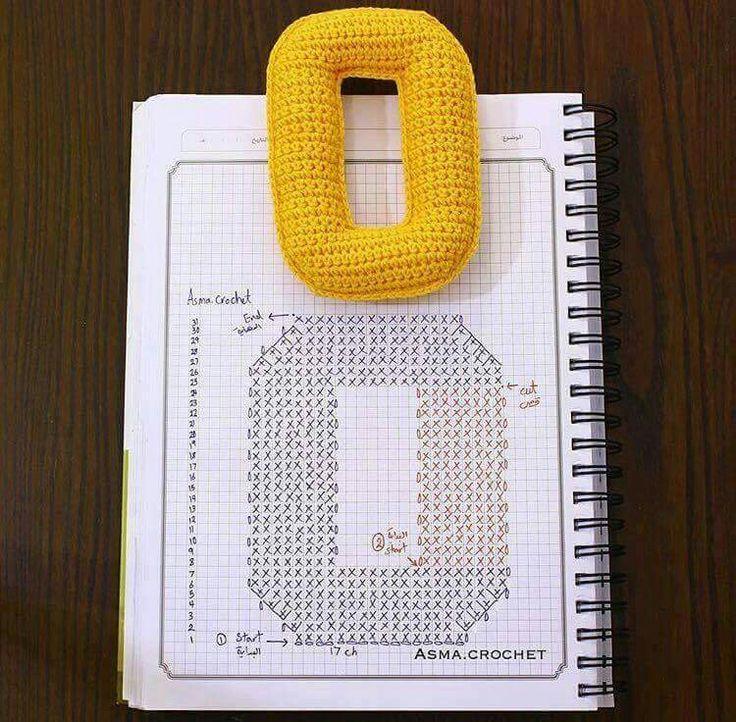 Amigurumi letter O