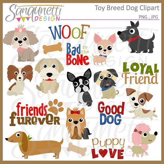 Toy Dog Breed Clipart Puppy Clipart Pet Clipart Poodle