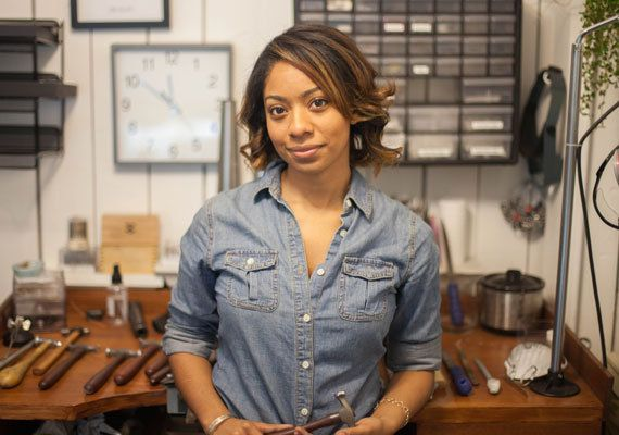 Quit Your Day Job: LilyEmme Jewelry  An Etsy jeweler who struck gold after finding her niche in the wedding scene shares her top tips for building a business true to your values. By Julie Schneider Feb 10, 2015