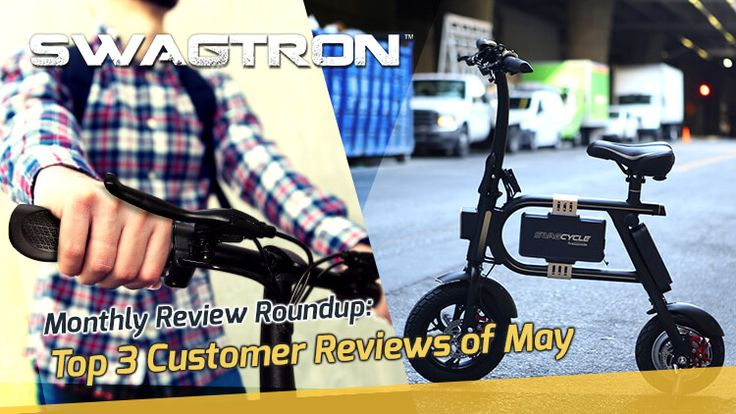 It's a new month and that brings us new user reviews! Here's what we have featured for the month of May! 🌆🚴🏞️ https://swagtron.com/electric-bike-review-may/?utm_content=bufferd9a6b&utm_medium=social&utm_source=pinterest.com&utm_campaign=buffer