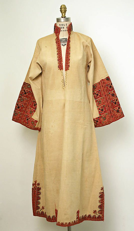 Dress  Date: late 19th century   Culture: European, Eastern
