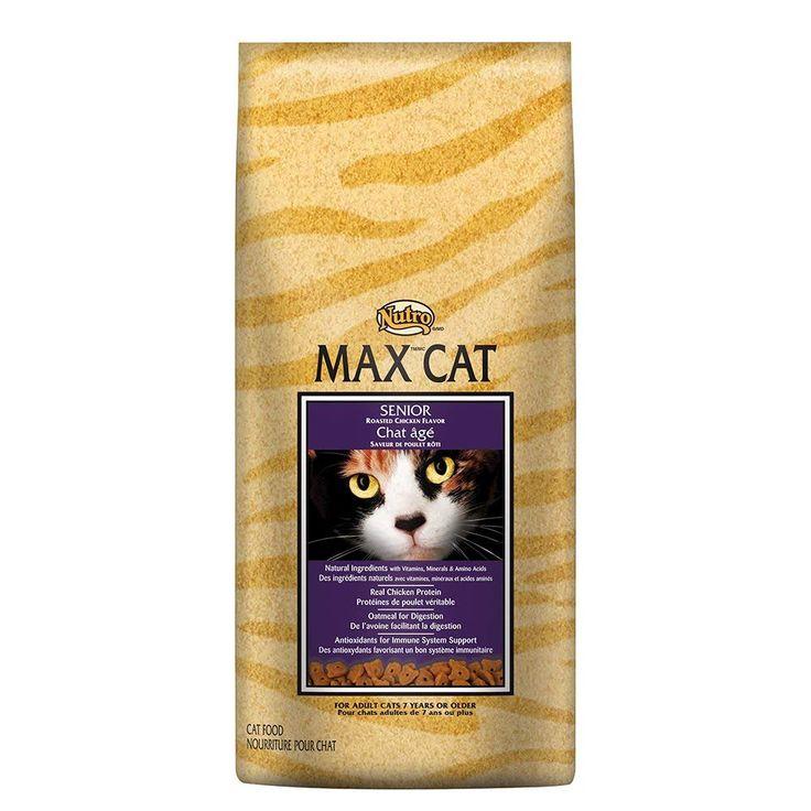 Nutro max cat senior roasted chicken flavor dry cat food 3