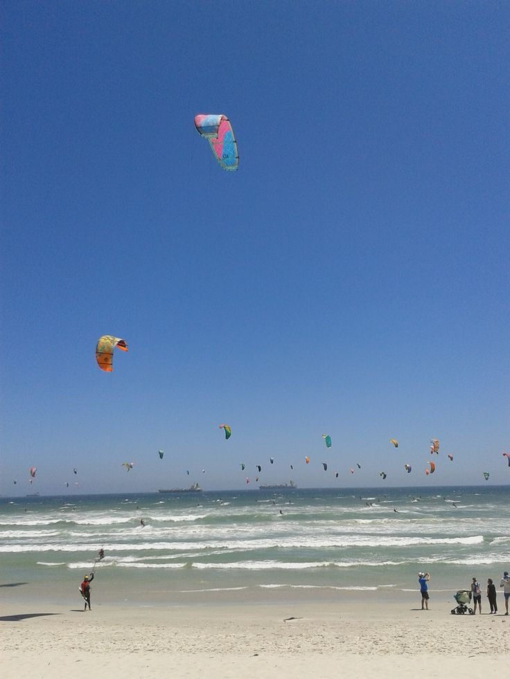 Kite Surfers at Blouberg Beach