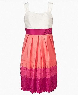 Ruby Rox Kids Dress, Girls Scallop Dress - Kids Dresses - Macy's