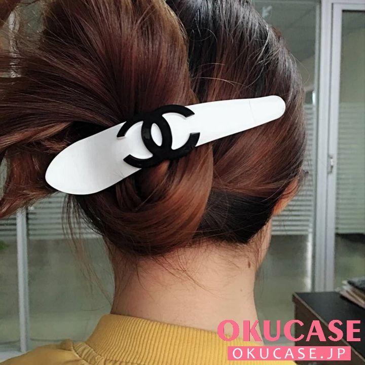 シャネル Chanel ヘアピン ヘア クリップ ブランド シャネル ヘアアクセサリー シャネル ヘアピン 可愛い ペアクリップ Chanel ヘアクリップ ブランド ヘアピン かわいい ヘアアクセサリー