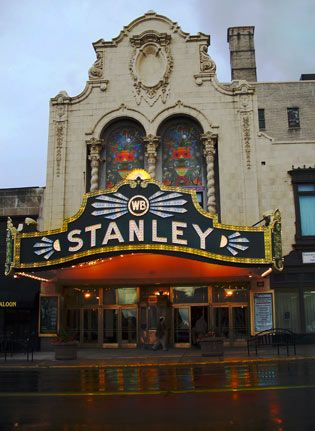 Stanley Theater Downtown Utica,NY----This is an older picture of this assembly hall