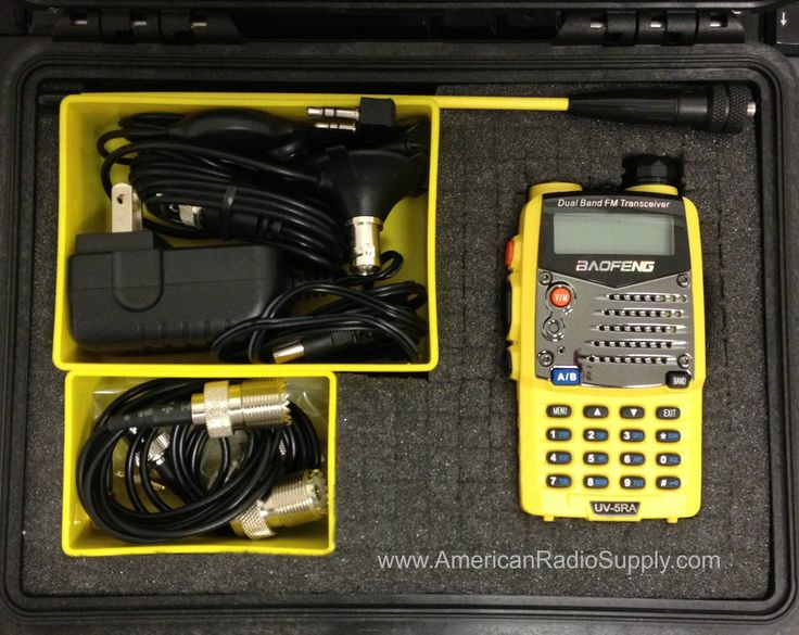 American Radio Supply - Baofeng UV-5RA 'Mini' Go-Box - Dual-Band Amateur Radio Kit - VHF UHF, $129.99 (http://www.americanradiosupply.com/baofeng-uv-5ra-mini-go-box-dual-band-amateur-radio-kit-vhf-uhf/)