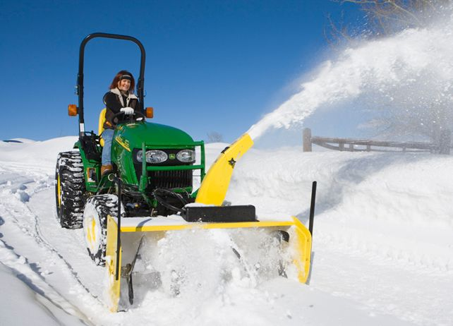Snow removal equipment plays a pivotal role in surviving the winter for many businesses, farms, and individuals. For this reason, John Deere's product production extends well beyond the autumn harvest.